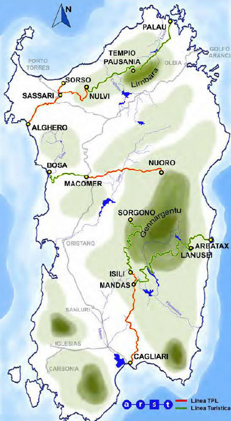 Sardinian Railways