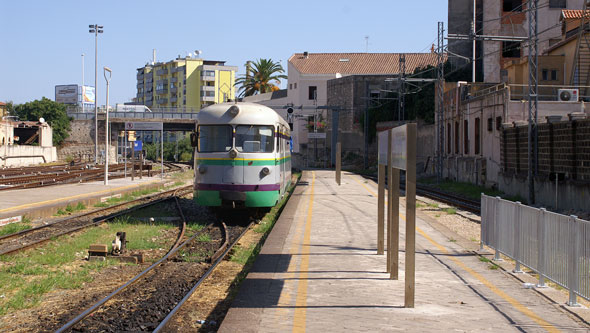 Ferrovie della Sardegna - Photo: © Ian Boyle, 25th August 2009 - www.simplompc.co.uk - Simplon Postcards