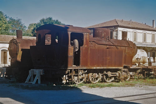 Tren Verde - Ferrovie della Sardegna - Photo: ©2011 Mike Tedstone - www.simplompc.co.uk - Simplon Postcards