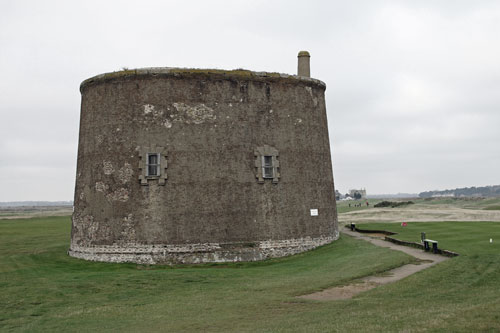 Martello Tower T at Felixstowe - Photo: � Ian Boyle, 14th November 2012 - www.simplonpc.co.uk