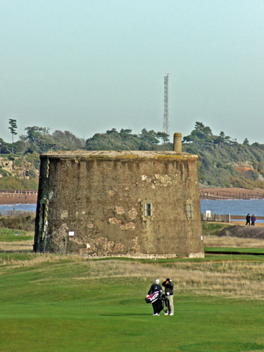 Martello Tower T at Felixstowe - Photo: � Ian Boyle, 23rd November 2012 - www.simplonpc.co.uk