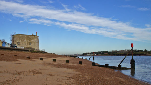 Martello Tower U at Felixstowe - Photo: � Ian Boyle, 23rd November 2012 - www.simplonpc.co.uk