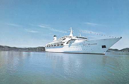 PO Cruise Ship Sun Princess Postcards Spirit Of London Sun - Columbo cruise ship