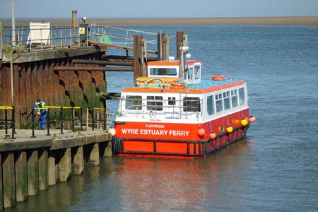 WYRE ROSE - Fleetwood-Knott End ferry - www.simplonpc.co.uk - Photo: © BSL WebDesign - www.bslwebdesign.co.uk