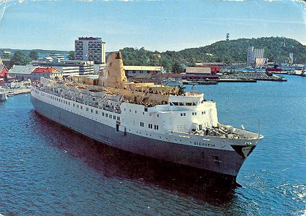 cruise norge fra københavn