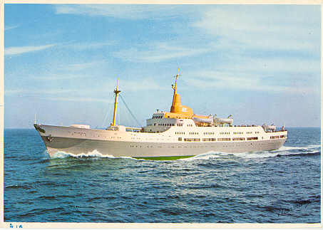 Fred Olsen - North Sea Ferry Postcards