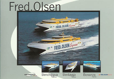 Lineas Fred Olsen Ferry Postcards and Photographs