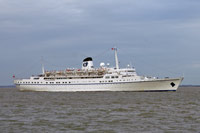 FUNCHAL arriving at Harwich