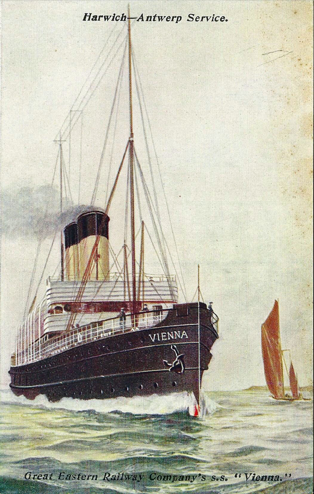 Image result for G.E.R. steamer vienna