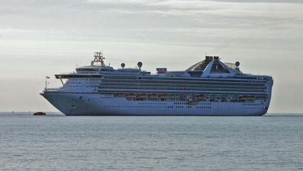 GRAND PRINCESS at Cannes - Photo: © Ian Boyle, 29th October 2011 -  www.simplonpc.co.uk