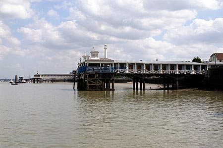 GRAVESEND TOWN PIER - www.simplonpc.co.uk - Photo: � Ian Boyle, 5th May 2006