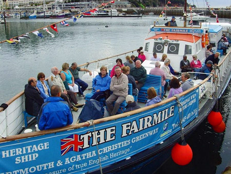 The Fairmile - © Greenway Ferry -www.greenwayferry.co.uk