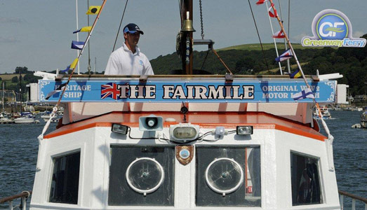 The Fairmile - © Greenway Ferry - www.greenwayferry.co.uk