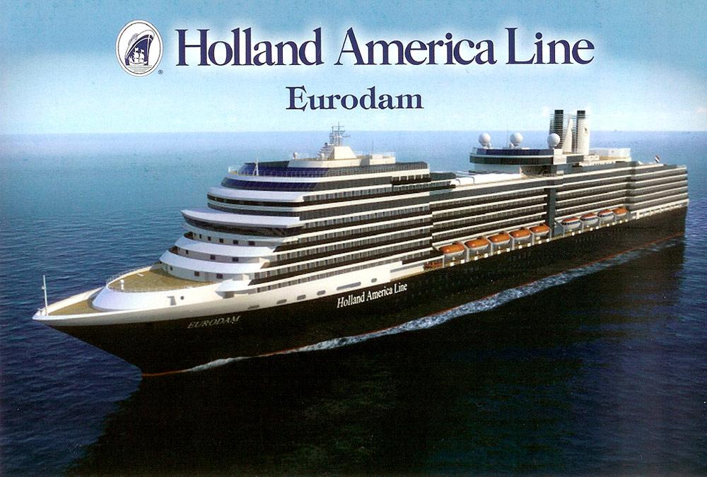 Holland America Cruise Ship Postcards