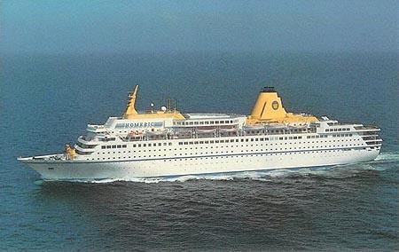 Homeric 1985  Westerdam  Costa Europa  Cruise Ship