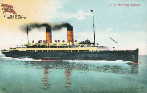 BEN-MY-CHREE (3) 1908-1917 - IOMSPCo - simplonpc.co.uk
