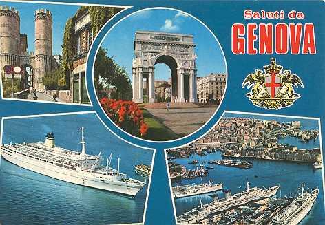 Saluti! | Italian Postcards | Pinterest