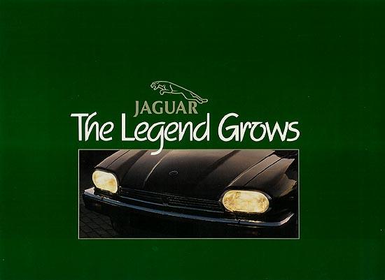 XJR-S *COUPE JAGUARSPORT JAGUAR XJS BROCHURE TWR A4 CARD LEAFLET XJRS JAGUAR