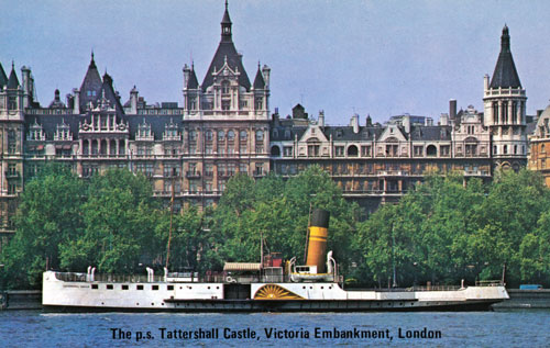 PS TATTERSHALL CASTLE - Simplon Postcards - simplonpc.co.uk -