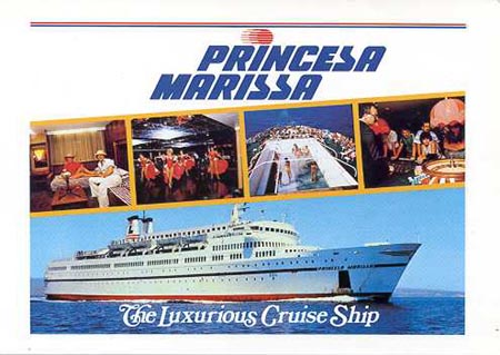 Princesa Marissa -  Louis Cruise Lines - www.simplonpc.co.uk
