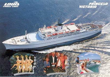 Princesa Victoria -  Louis Cruise Lines - www.simplonpc.co.uk