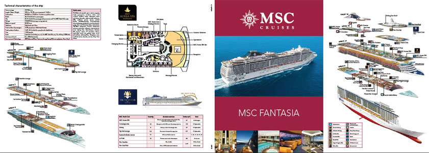 MSC FANTASIA DECK PLAN
