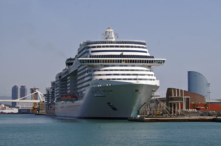 MSC FANTASIA - Photo: � Ian Boyle, 21st August 2009