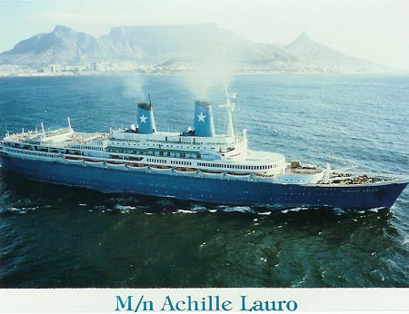 lauro lines ocean liner and cruise ship postcards