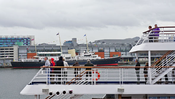 Marco Polo Departure - Photos: © Ian Boyle, 10th August 2014