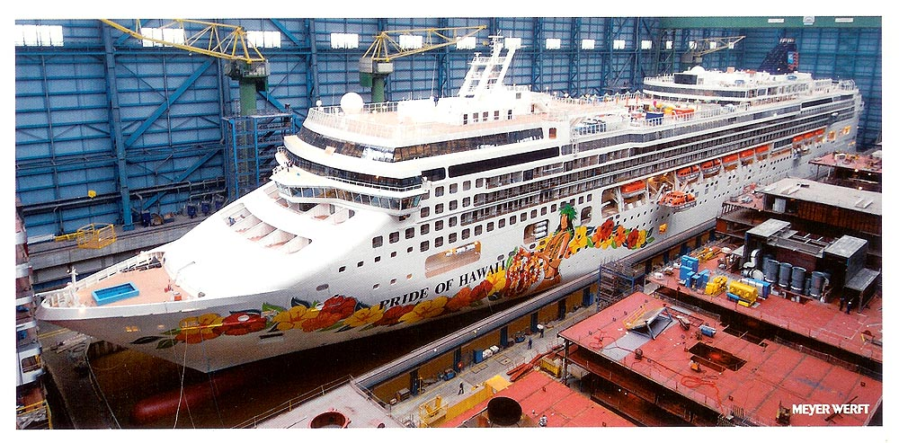 Pride Of Hawaii Norwegian Jade Cruise Ship Photographs - Cruise ship builders