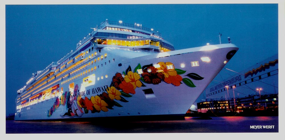 Pride Of Hawaii Norwegian Jade Cruise Ship Photographs - Cruise ships hawaii