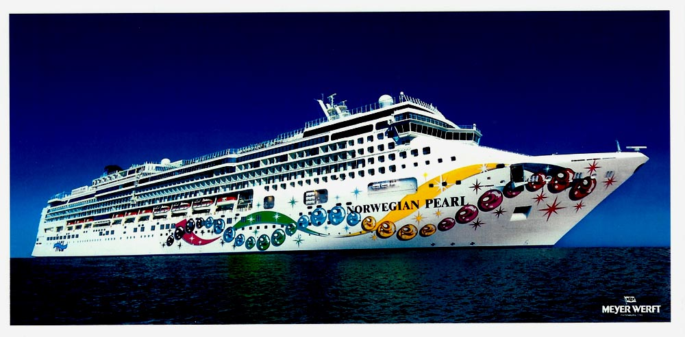 Norwegian Pearl Cruise Ship Photographs Cruise Ship Postcards - Norwegian pearl cruise ship