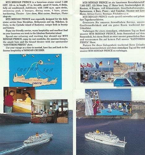 Apollon  Minoan Prince Cruise Ship Postcards