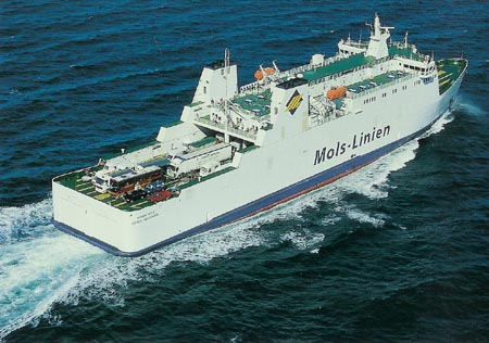 odde aarhus ferry