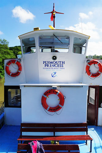 MORWELLHAM - Plymouth Boat trips - Photo: © Ian Boyle, 29th June 2015 - www.simplonpc.co.uk