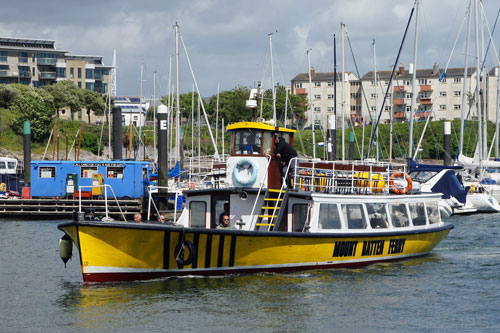 PLYMOUTH BELLE - Mount Batten Ferry - Photo: ©2013 Ian Boyle - www.simplonpc.co.uk