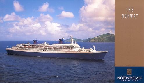 NCL Norwegian Cruise Line Cruise Ship Postcards - Cruise ship norway