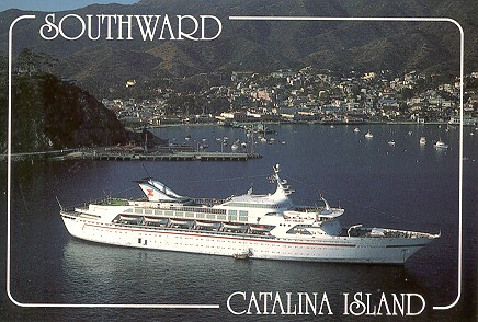 NCL Cruise Ship Southward Later Airtours Seawing - Starward cruise ship