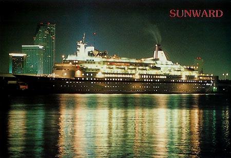 NCL Norwegian Cruise Line Cruise Ship Postcards - Cruise ship tonnage list