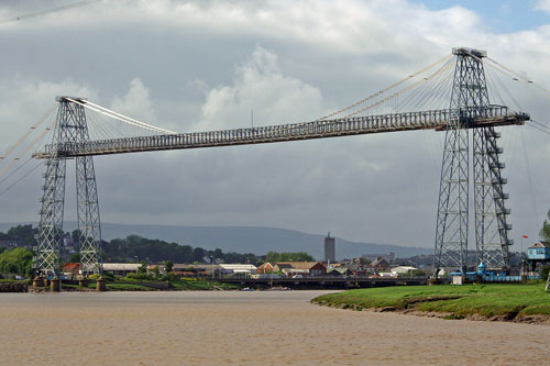 NEWPORT TRANSPORTER BRIDGE - Photo: ©2005 Ian Boyle - www.simplompc.co.uk - Simplon Postcards