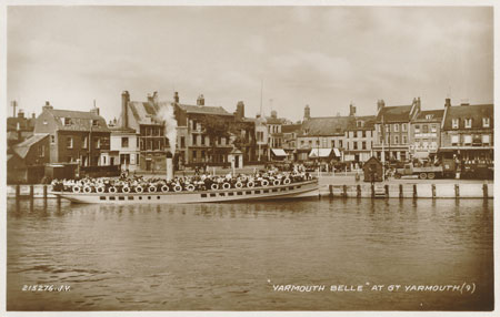 YARMOUTH BELLE at Great Yarmouth - www.simplonpc.co.uk