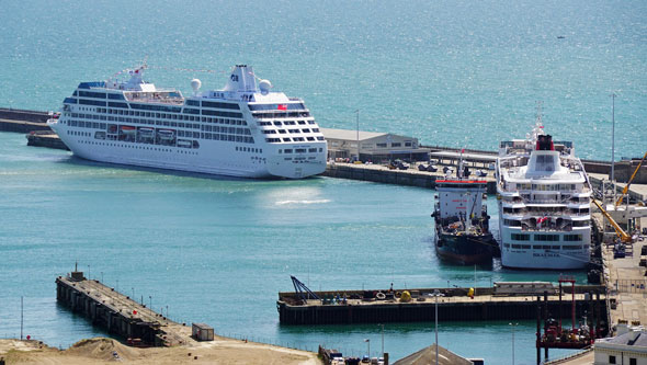 Ocean Princess Cruise - Dover - Photo: © Ian Boyle, 18th July 2015 - www.simplonpc.co.uk