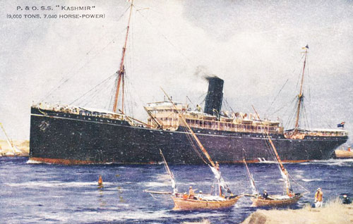 P&O KASHMIR - Simplon Postcards - simplonpc.co.uk