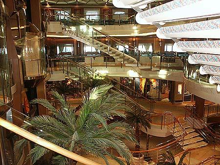 Oceana page 3 p o princess cruise ship postcards photos for Aurora p o interior