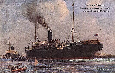 P&O KAYLAN - Simplon Postcards - simplonpc.co.uk