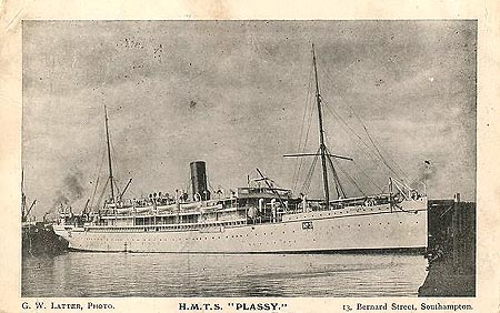 P&O PLASSY - Simplon Postcards - simplonpc.co.uk