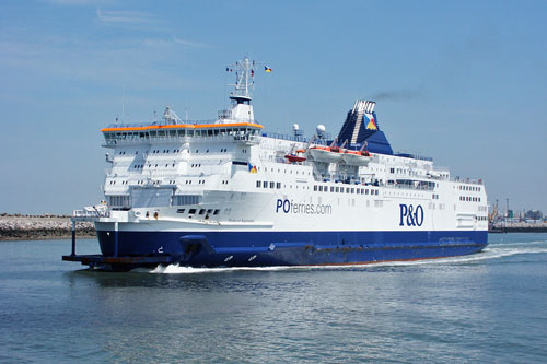 P&O FERRIES DOVER - www.simplonpc.co.uk - Simplon Postcards