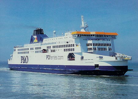Portsmouth To Le Havre >> P&O Ferries Postcards by Chantry Classics