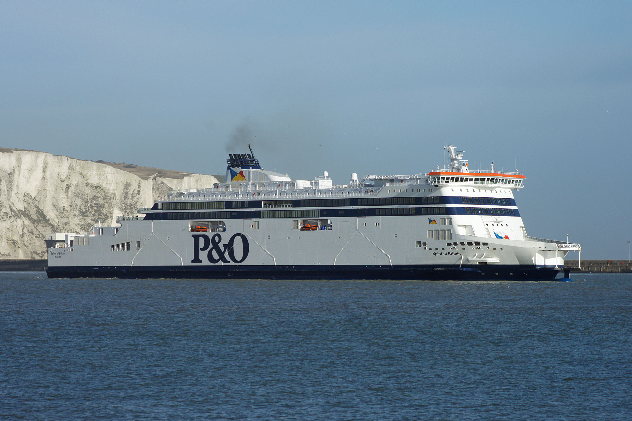 SPIRIT OF BRITAIN 2010 - P&O Ferries - www simplonpc co uk