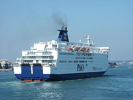 Portsmouth To Le Havre >> Olau Hollandia Ferry Postcards